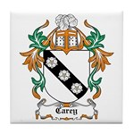 Carey Coat of Arms Tile Coaster