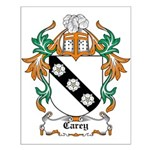Carey Coat of Arms Small Poster