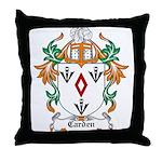 Carden Coat of Arms Throw Pillow