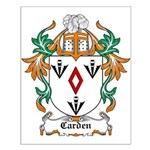 Carden Coat of Arms Small Poster
