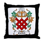 Cardell Coat of Arms Throw Pillow
