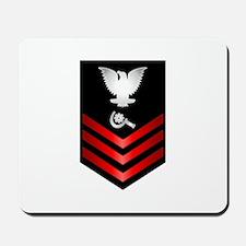 Navy Machinery Repairman First Class Mousepad