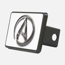 International Atheism Symbol Hitch Cover