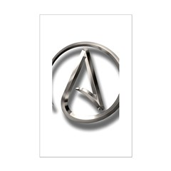 International Atheism Symbol Posters