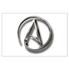 International Atheism Symbol Posters