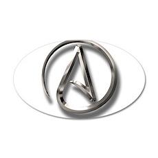 International Atheism Symbol Wall Decal