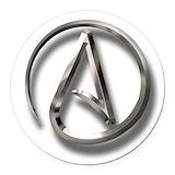 Atheist Round Car Magnets