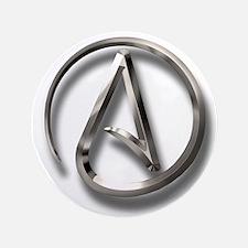 "International Atheism Symbol 3.5"" Button (100 pack"