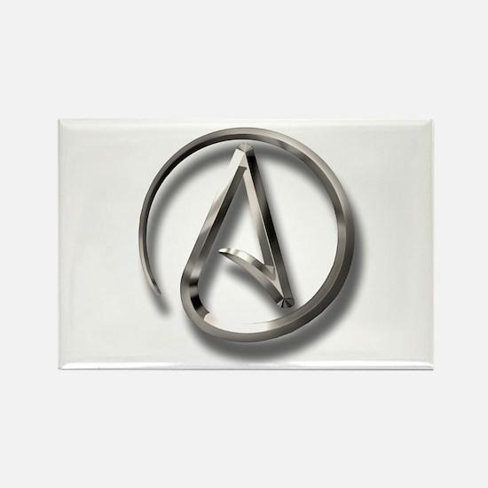 International Atheism Symbol Rectangle Magnet (10