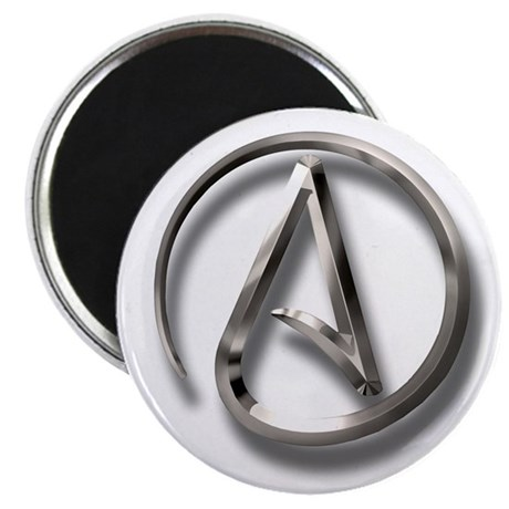 "International Atheism Symbol 2.25"" Magnet (10 pack"