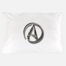 International Atheism Symbol Pillow Case