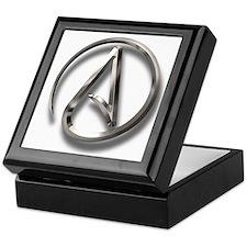 International Atheism Symbol Keepsake Box