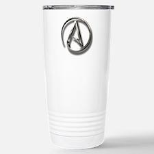 International Atheism Symbol Travel Mug