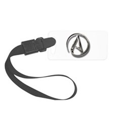 International Atheism Symbol Luggage Tag