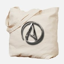 International Atheism Symbol Tote Bag