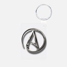 International Atheism Symbol Keychains