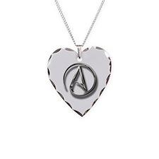 International Atheism Symbol Necklace