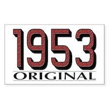 1953 Original Rectangle Decal