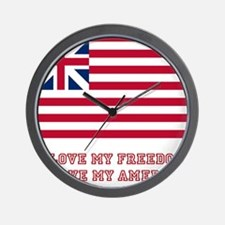 The Flag of Great Union Wall Clock