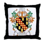 Callander Coat of Arms Throw Pillow
