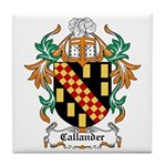 Callander Coat of Arms Tile Coaster