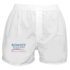 Romney Ryan Boxer Shorts