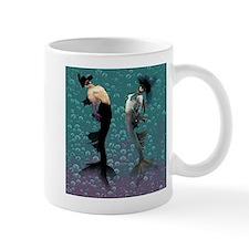 Carnival Mermaid Merman Shower Mug