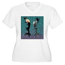 Carnival Mermaid Merman Shower T-Shirt