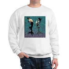 Carnival Mermaid Merman Shower Sweatshirt