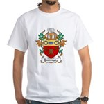 Burroughs Coat of Arms White T-Shirt
