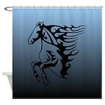 Horse Art Shower Curtain