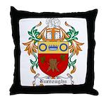 Burroughs Coat of Arms Throw Pillow