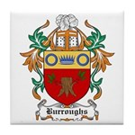 Burroughs Coat of Arms Tile Coaster