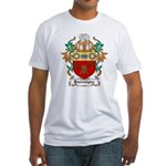 Burroughs Coat of Arms Fitted T-Shirt