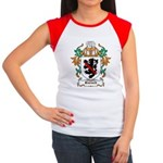 Burnell Coat of Arms Women's Cap Sleeve T-Shirt