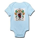 Burnell Coat of Arms Infant Creeper