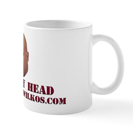 """Rub My Head"" Mug"