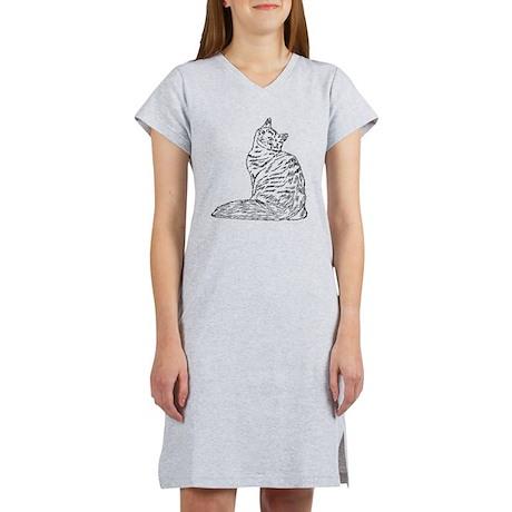 SIBERIAN CAT Women's Nightshirt