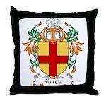 Burgh Coat of Arms Throw Pillow