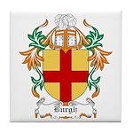 Burgh Coat of Arms Tile Coaster