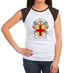 Burgh Coat of Arms Women's Cap Sleeve T-Shirt