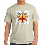 Burgh Coat of Arms Ash Grey T-Shirt
