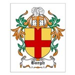 Burgh Coat of Arms Small Poster