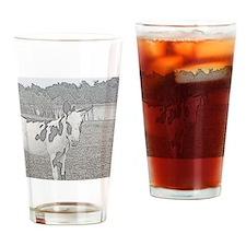 Swamp Donkey Drinking Glass