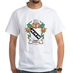 Bunbury Coat of Arms White T-Shirt