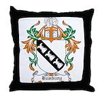 Bunbury Coat of Arms Throw Pillow