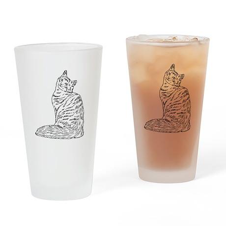 SIBERIAN CAT Drinking Glass