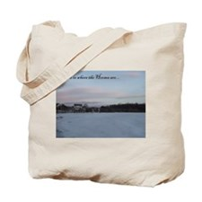 Where The Horses Are Tote Bag