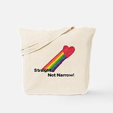 straightnotnarrowhitecopy.png Tote Bag