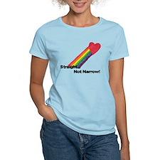 straightnotnarrowhitecopy.png T-Shirt